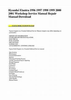 service repair manual free download 2001 hyundai accent auto manual hyundai elantra 1996 1997 1998 1999 2000 2001 workshop service manual