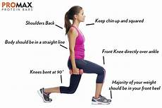 lunge form quick guide to lunges promax nutrition