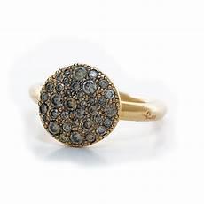 anello sabbia pomellato pomellato bague en or avec diamants bruns lionel