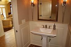 wainscoting ideas for bathrooms wainscoting america raised panel 1 2 bathroom
