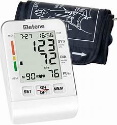 do automatic blood pressure machines read high metene upper arm blood pressure monitor cuff kit fully automatic fast high accuracy reading