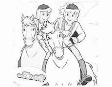 Ausmalbilder Bibi Und Tina Mit Pferde Bibi Und Tina Ausmalbilder Kostenlos Malvorlagen