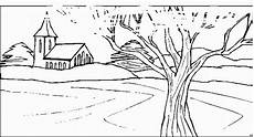 malvorlagen landschaften gratis und original baum im vordergrund ausmalbild malvorlage fr 252 hling