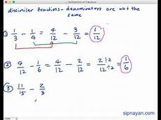 addition and subtraction of similar fractions worksheets for grade 4 9823 sf2 subtraction of fractions dissimilar fractions