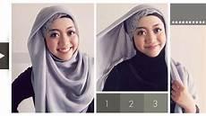 Lebaran Tutorial Pashmina Simple Dan Mudah Stylish