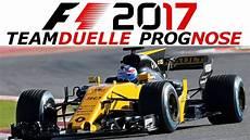 Formel 1 2017 Fahrer Prognose Die Teamduelle Im Detail