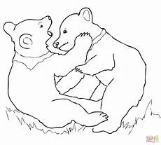 Tierbaby Ausmalbilder Grizzly Coloring Pages
