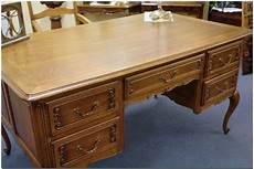 Schreibtisch Damenschreibtisch Eiche Massiv Antik 541 Ebay