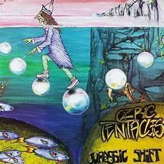 ozric tentacles jurassic shift vinyle pochette album