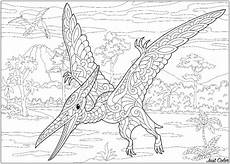 pterodactyl dinosaurs coloring pages