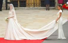 Wearing A White Wedding Dress