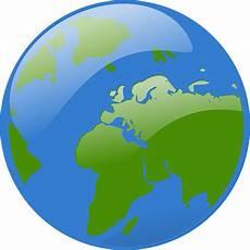 Gambar Vektor Gratis Bola Peta Dunia Bumi Benua