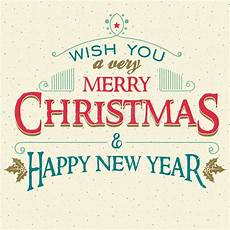 merry christmas and new year greeting card stock vector image 61437899