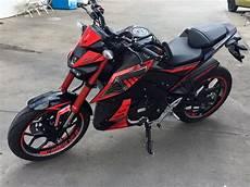 Modifikasi M by Modifikasi Yamaha M Slaz Black Keren Motohits