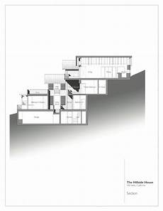 sloping hill house plans gallery of hillside house sb architects 20