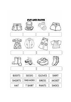 worksheets clothing 18811 pin en dla dzieci