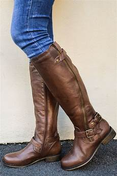 steve madden synicle brown leather boots leather