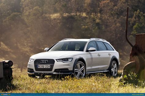 Audi A6 Allroad Stance