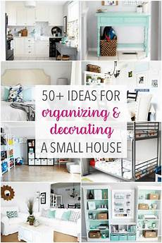 Apartment Organizing Ideas by 50 Ideas For Organizing And Decorating A Small House