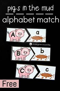 animal letter worksheets 13939 pigs in the mud alphabet match farm lessons farm animals preschool farm activities