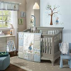 lambs rabbit 6 piece baby nursery crib bedding