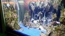 Air Terjun Aquascape 8 Mata Titik Sudah Pake Moss By