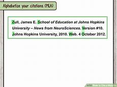 how to cite a website with sle citations wikihow
