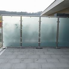 balkon sichtschutz aus glas indoo haus design