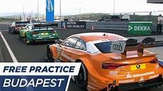 Dtm Budapest 2017 Free Practice 2 Re Live German