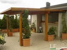 tettoia balcone tettoia legno addossata lf arredo legno