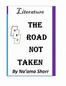 teacherstrading com the road not taken a lesson plan for english as a second language