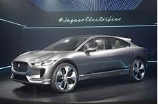 jaguar f pace electric car 2018 jaguar i pace electric suv revealed plus exclusive