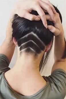 undercut frauen stylen pin on hair cut color style