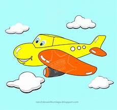 Gambar Lucu Animasi Pesawat Kolektor Lucu