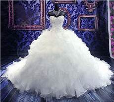 actual images sweetheart luxury royal puffy pearl beading