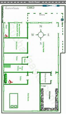 north facing vastu house floor plan house layout plans