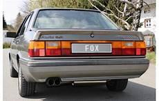 fox sportauspuff audi 80 b2 typ 85 quattro endrohr 2x76mm
