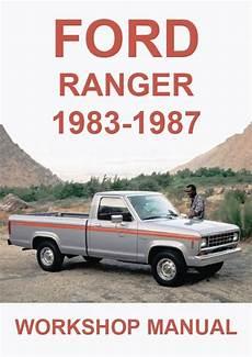 car repair manual download 1987 ford ranger regenerative braking ford ranger 1983 1987 workshop manual ford ranger ford ranger