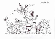 dinobots coloring pages 16835 the dinobots by hellbat on deviantart