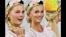 Frisur Mit Haarband - festivalfrisuren mit haarband 4 frisuren step by step