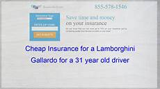 How Much Is Car Insurance For A Lamborghini