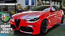 Alfa Romeo Giulia Quadrifoglio Tuning Gta V Redux