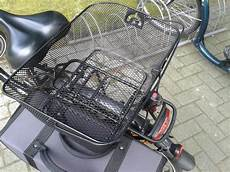 bicycle basket test bike basket for front and rear