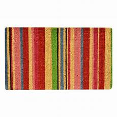 6 Ft Door Mat by Hometrax Designs Outdoor Stripes 1 Ft 6 In X 2 Ft 6 In
