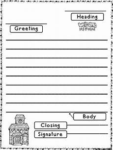 worksheets letter writing 24540 back to school friendly letter teach review or revisit friendly letter writing in