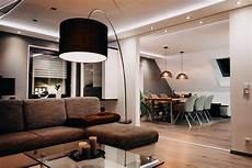Indirekte Akzentbeleuchtung In Wohnzimmer K 252 Che