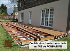 r 233 alisation d une terrasse en bois structure sur