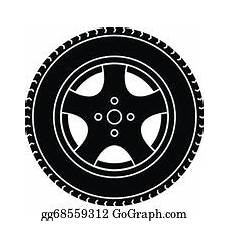 Car Wheel Clip Royalty Free Gograph