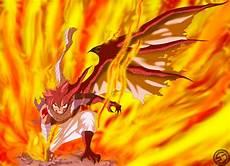 natsu half dragon mode by gevdano