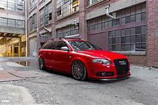audi b7 s4 red vmr wheels